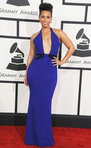 The Buzz... Grammy night Fashion... Alicia Keys