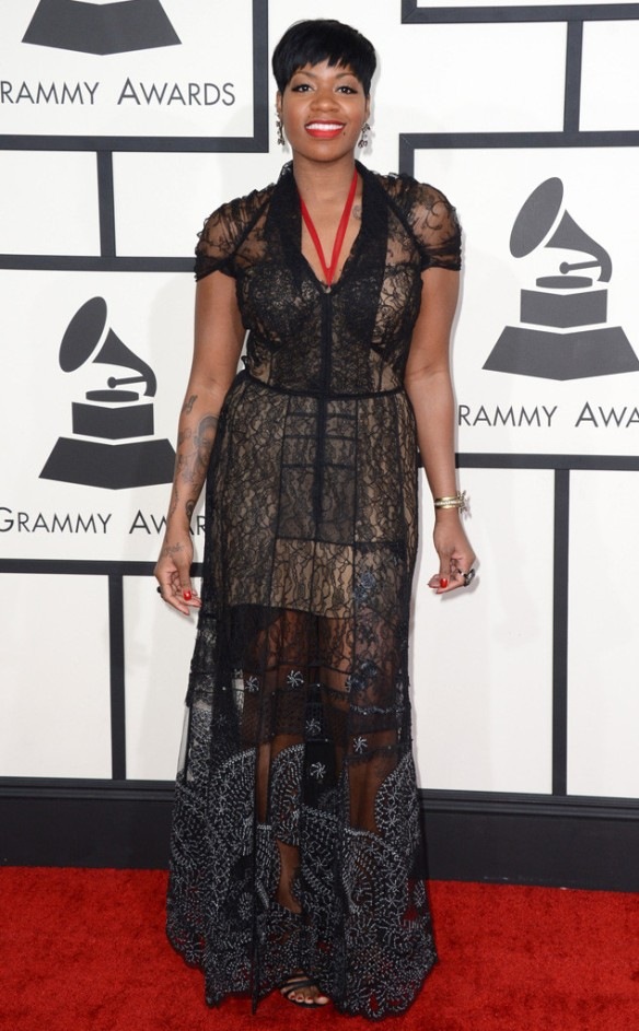 The Buzz... Grammy night fashion Fantasia