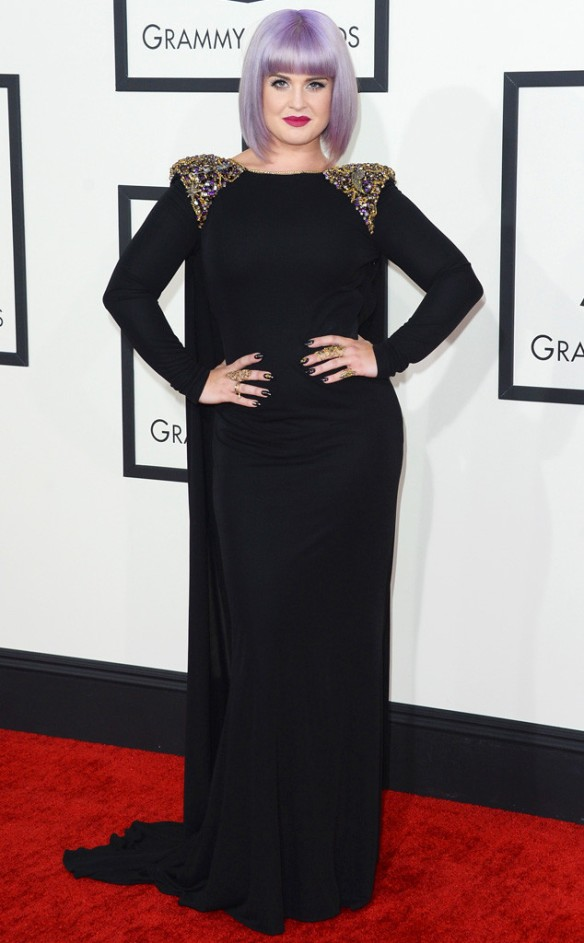 The Buzz... Grammy night fashion... Kelly Osbourne