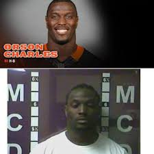 The Sports Chic... Orson Charles faces a gun charge
