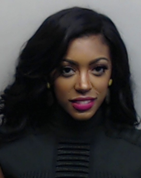 The Buzz... Porsha Williams (RHOA) arrested
