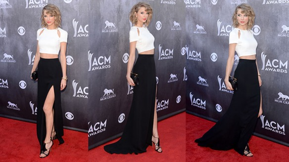 Fash Bash... Taylor Swifts rocks at the ACM
