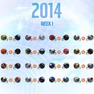nfl week one 2014